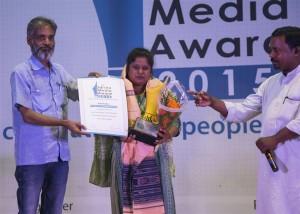 14.Rojalin Pradhan-Best Reporter(Community Reporting)